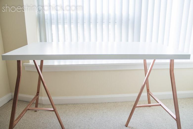 DIY Home Office Desk Under $50