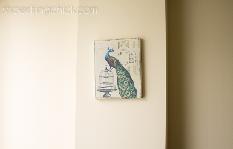 Wall Art Without Nails Use Command Strips Shoestring Chick