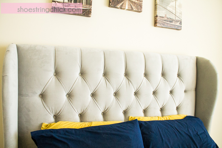 Bedroom Progress: Skyline Furniture Wingback Headboard Review