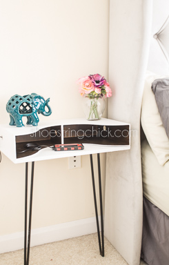DIY Hairpin Leg Nightstand Shopping List