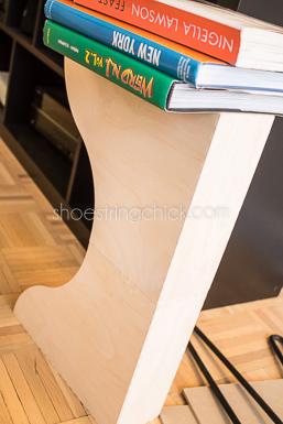 hairpin leg nightstand DIY-5