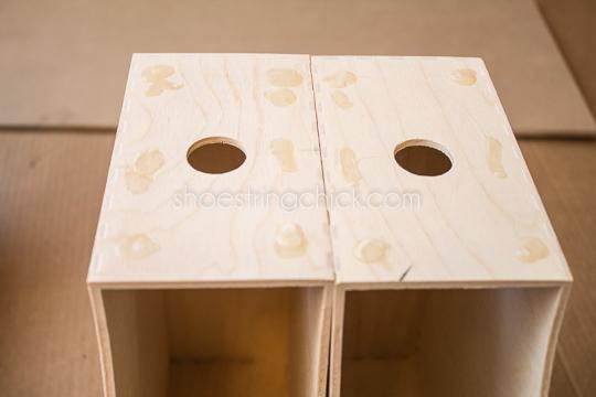 hairpin leg nightstand DIY-7