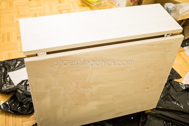 Paint Ikea Furniture  Norden Gateleg Table ...