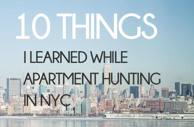 Apartment Hunting in NYC Part 3: Our Search Is Over, Some Help With Yours