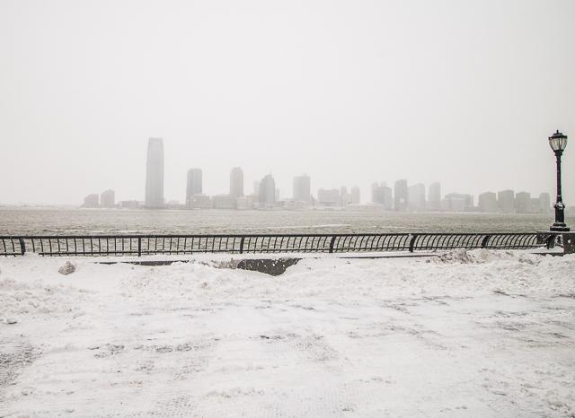 Battery Park Snow Storm-13