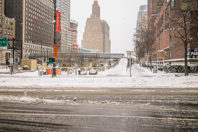 Battery Park Snow Storm-5