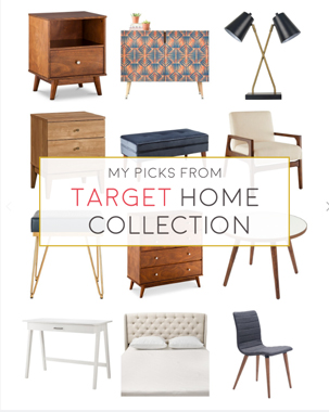 Favorite Pieces: Target Home Collection This Fall